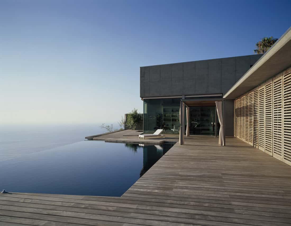 Fachadas de casas de playa modernas