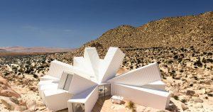 Casa contenedor en el Desierto