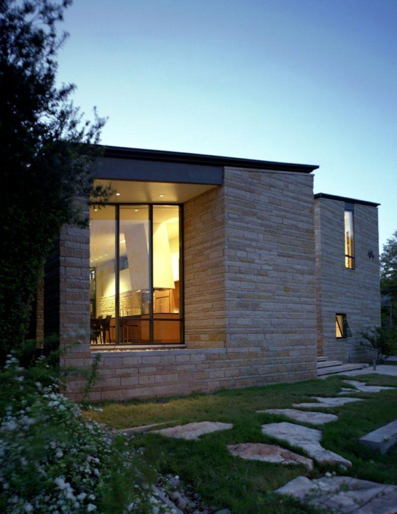 Piedra para fachadas exterior.