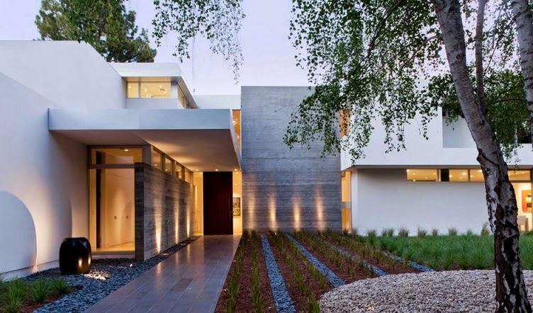 Piedra natural para fachadas modernas.