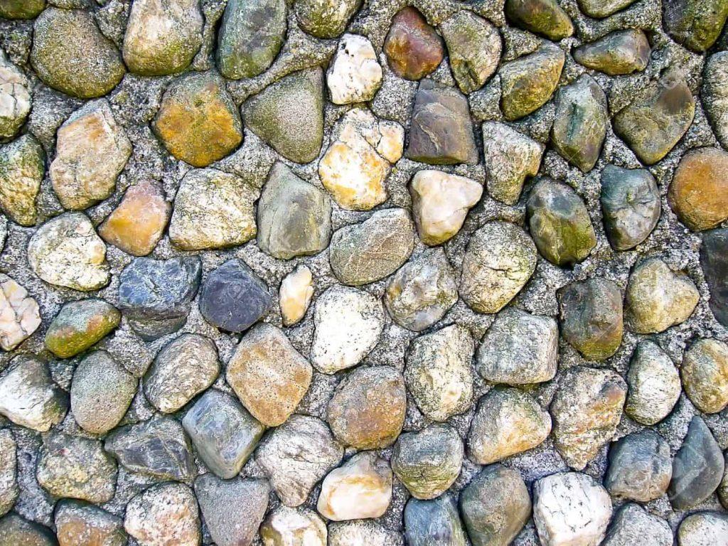 Piedra Estilo Redondeado.