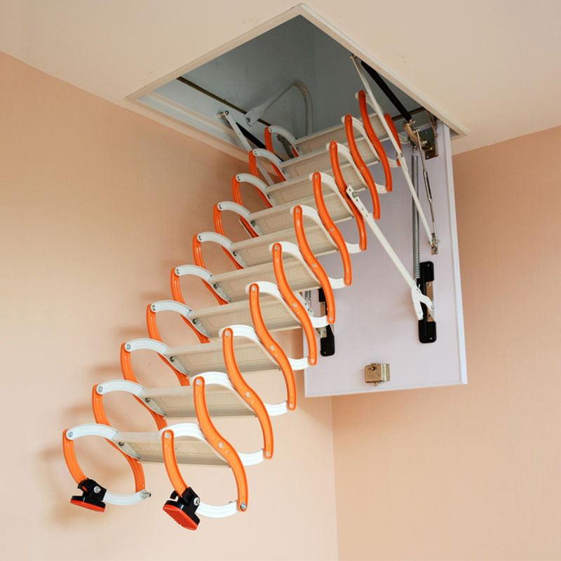 Las escaleras que se pueden plegar son ideales para casa habitación