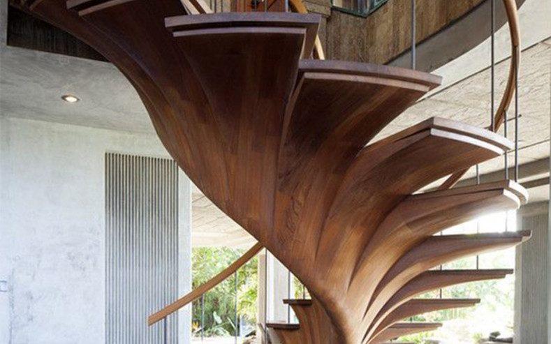 Tipos de escaleras de casa