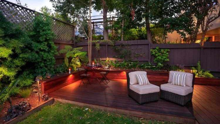 Diseño jardines pequeños.