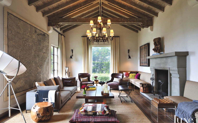 Los colores claros y neutros son la base del estilo colonial.