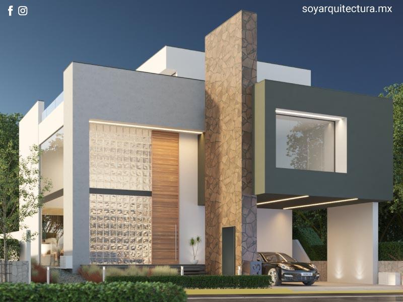 Casas modernas hermosas