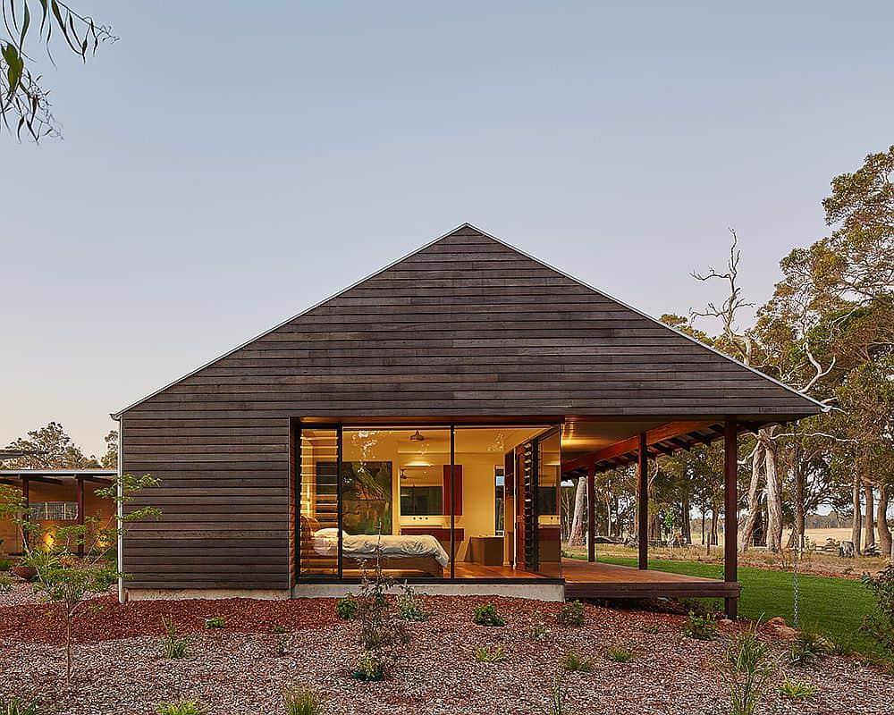 Hermosas casas de campo modernas
