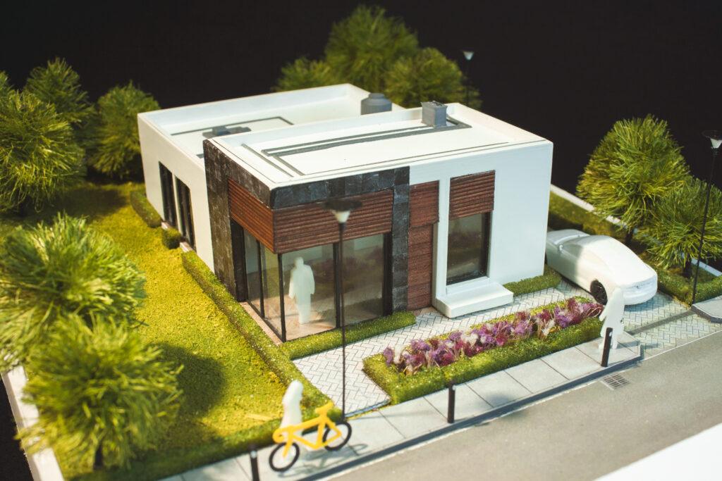 casa pequeña moderna mia